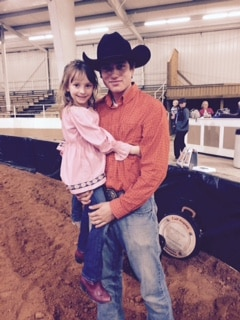carson alabama youth rodeo winner