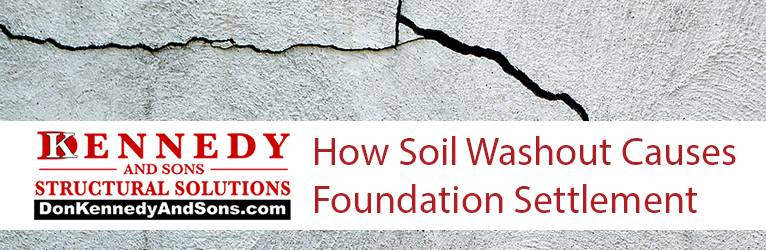 How Soil Washout Causes Foundation Settlement