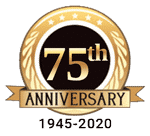 75th anniversary badge icon